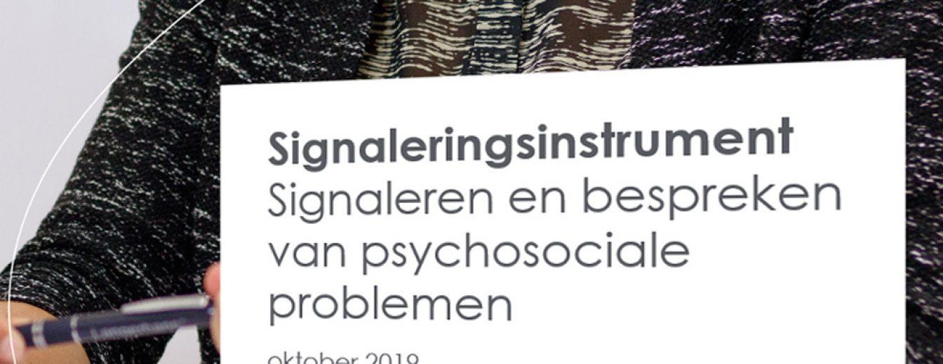 Afbeelding voor Signaleringsinstrument voor psychosociale zorg nu beschikbaar